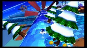 Combiner des niveaux de glace et Sonic la savonette, quelle bonne idée !