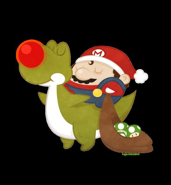 Mario Christmas par Beyx