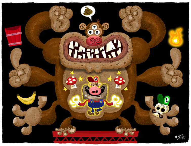 Mario vs Donkey Kong par Jorge R. Gutierrez