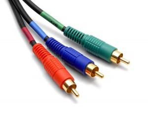 Un câble « component » utilise 3 connecteurs RCA