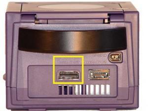 La sortie Component de la Gamecube, seulement disponible sur les premiers modèles.