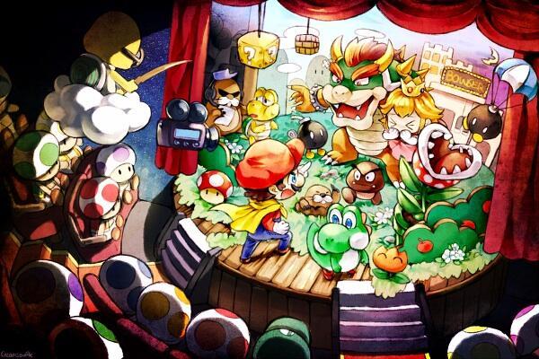 Super Mario World par Creamsouffle