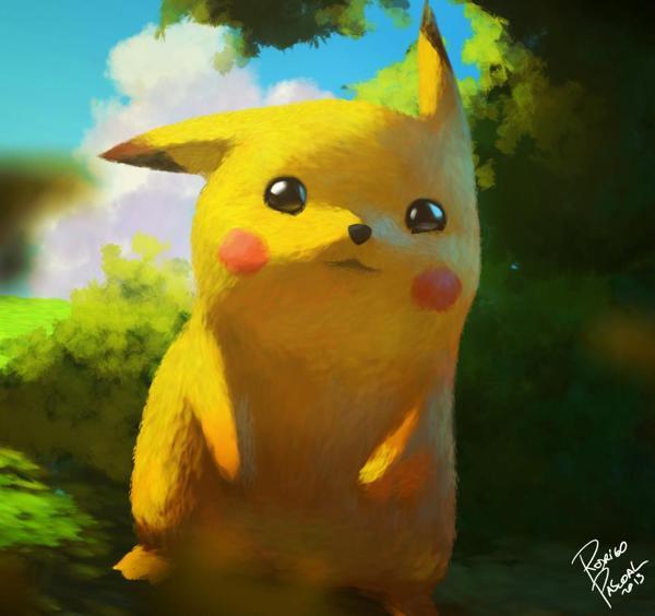 Pikachu by Rodrigo Pascoal