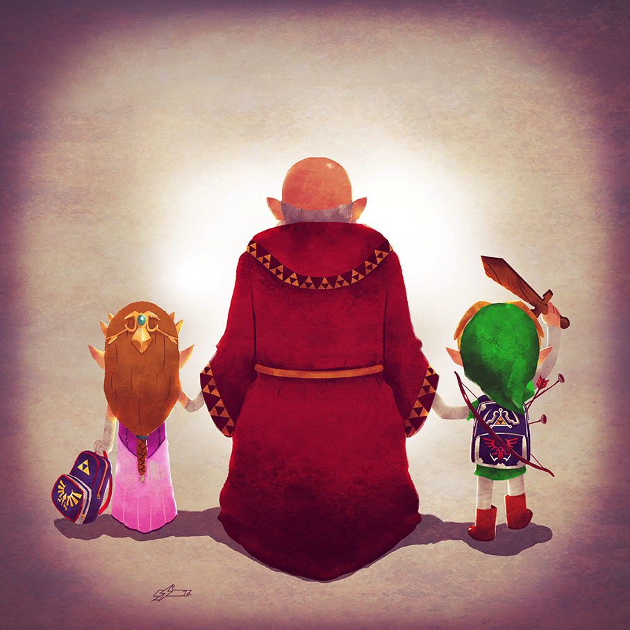 Family from Hyrule