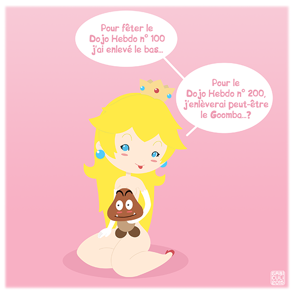 Princesse Peach par GabiCuli