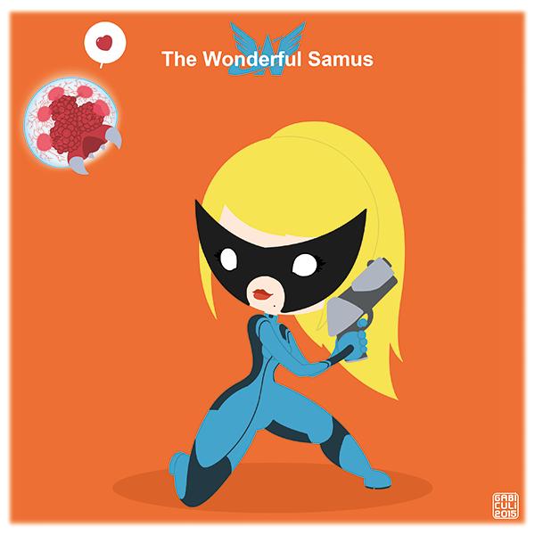 Wonderful Samus par GabiCuli