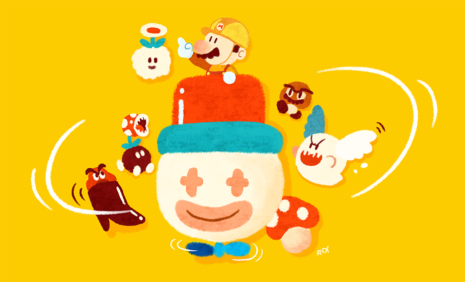 Super Mario Maker par Krakenfinsoup