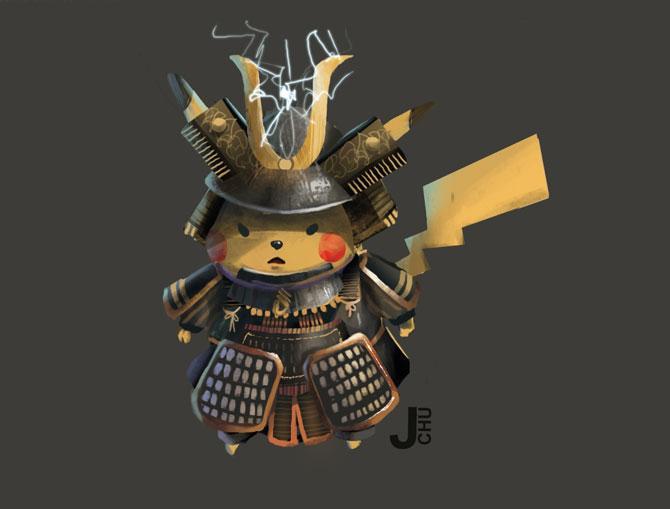 Pikachu par Janice Chu