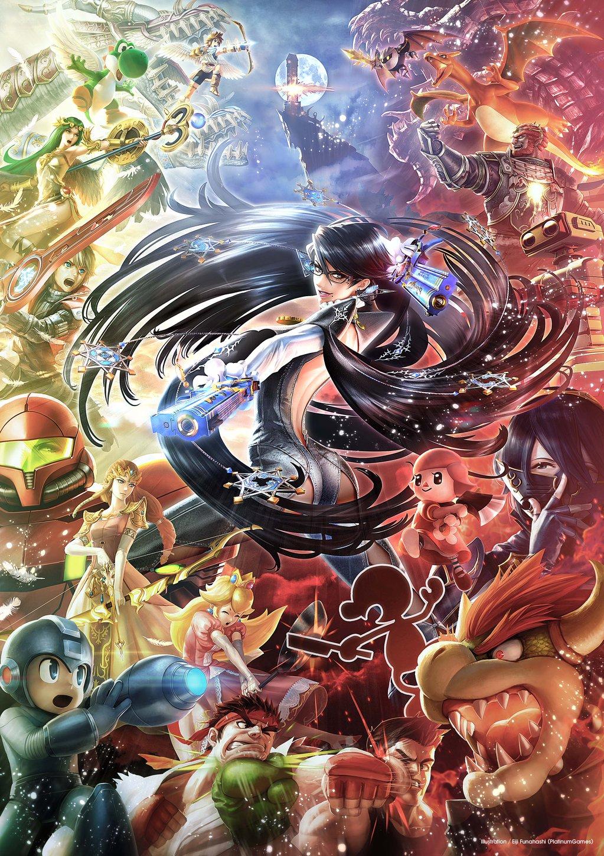 Super Smash Bros par Eiji Funahashi (PlatinumGames)