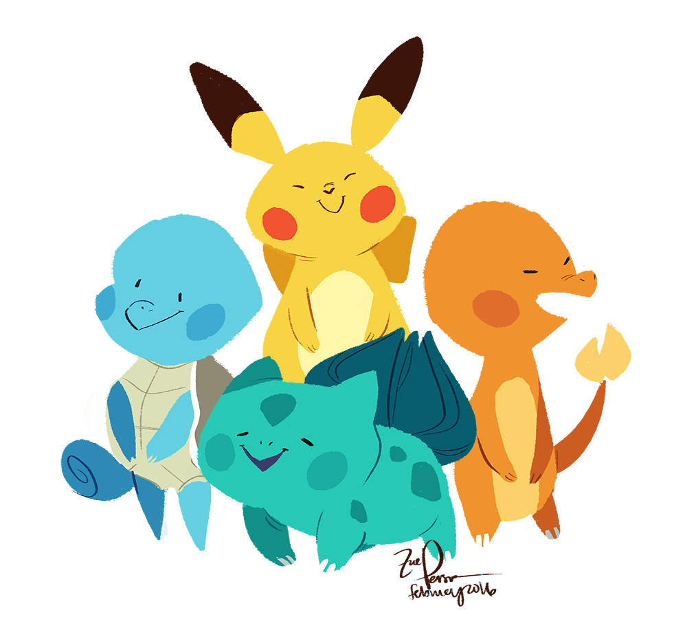 Happy 20th Birthday Pokémon par Zoe Persico