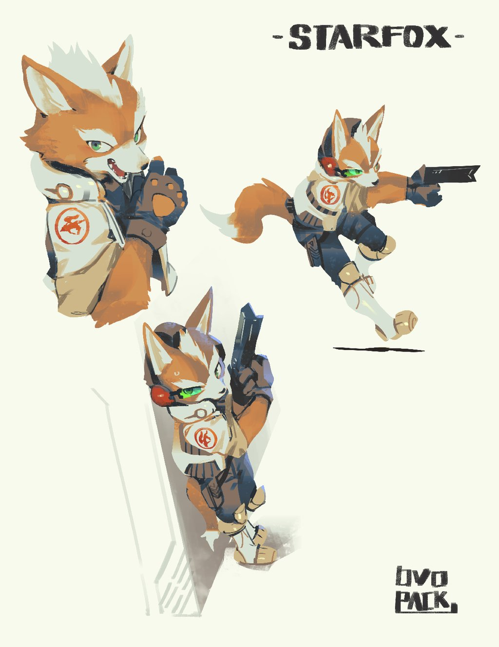 Star Fox par Ovopack