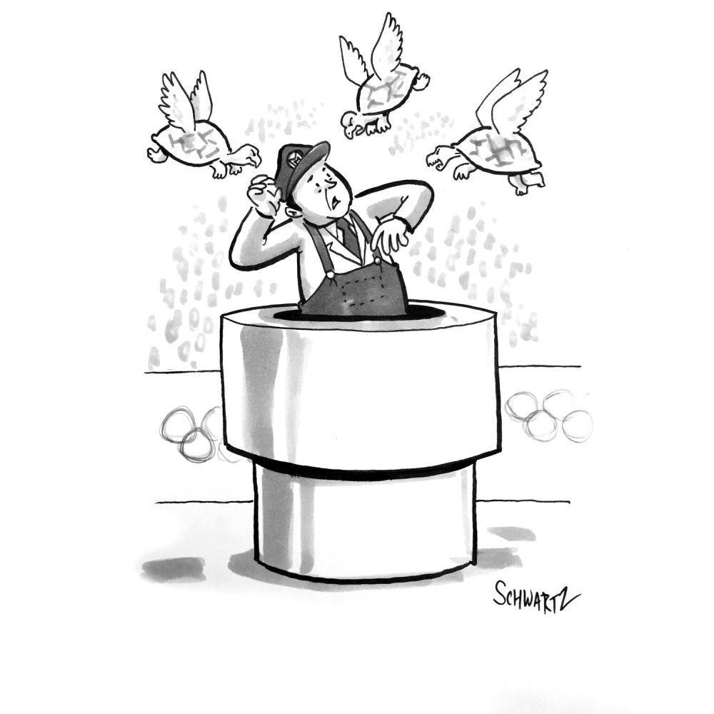 Daily Cartoon Extra - 22 août 2016