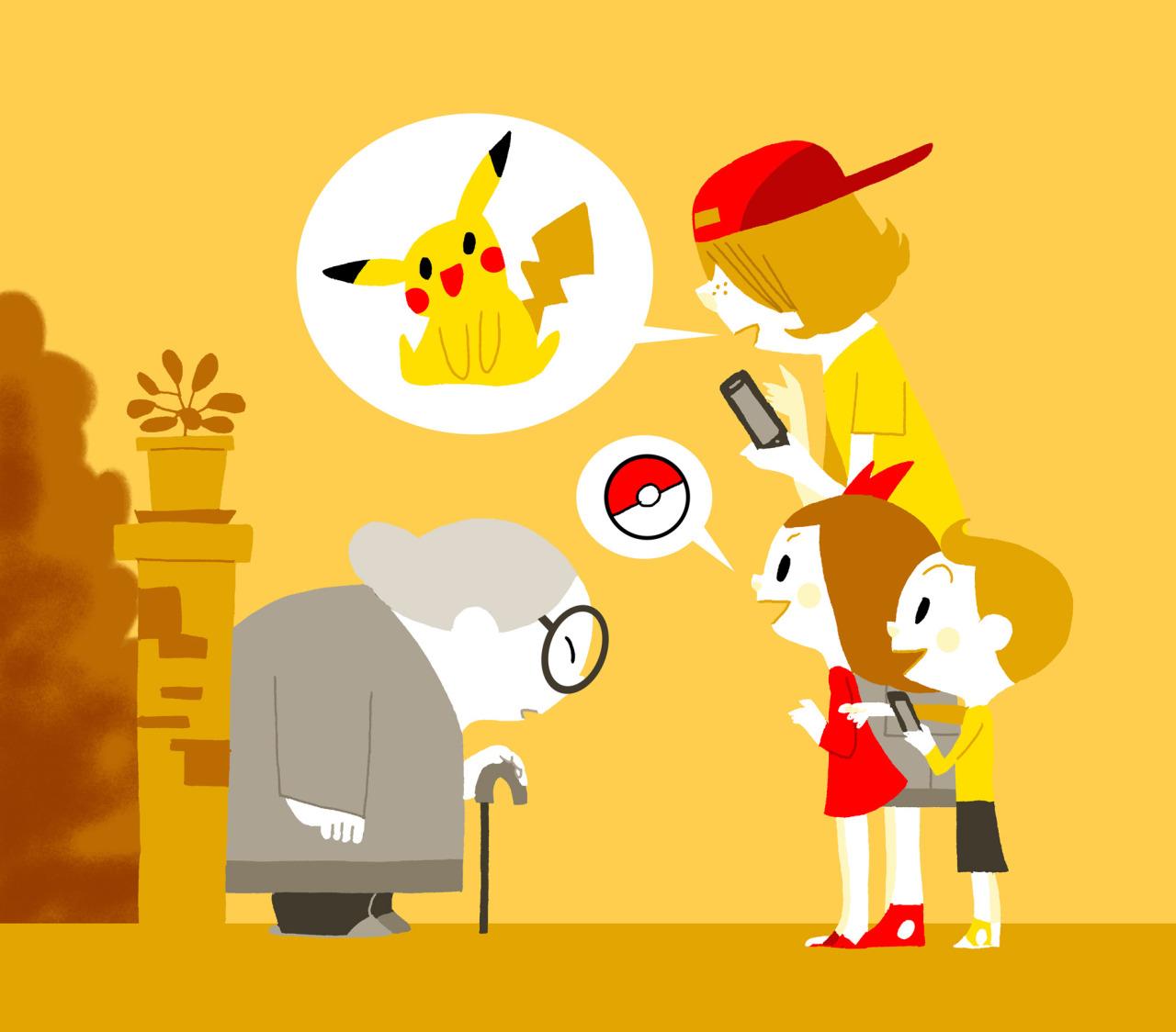 Pokémon Go par Little Moutarde