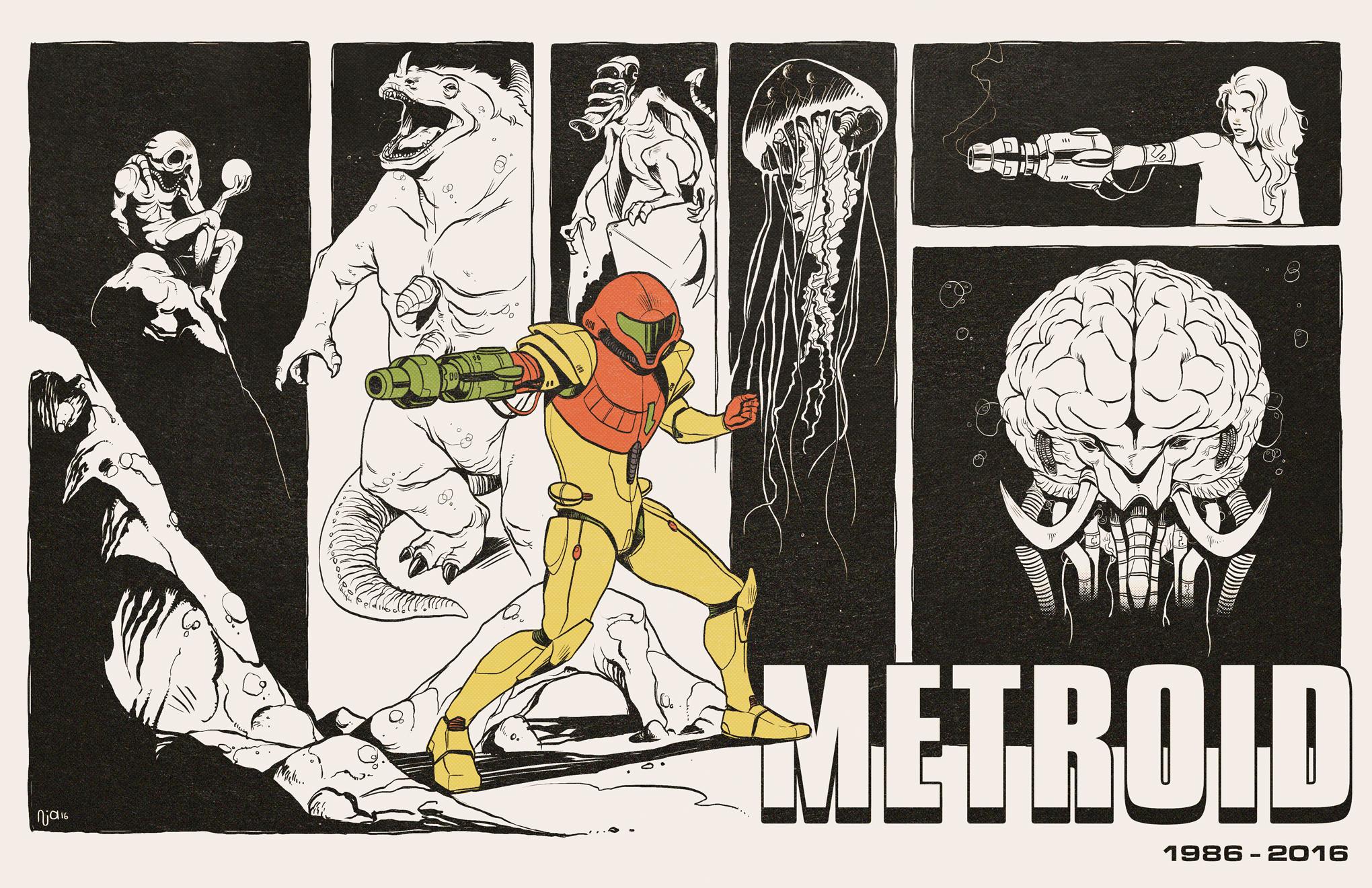 Metroid par Deimos Remus